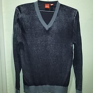 BOSS ,V neck sweater.